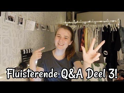 Fluisterende Q&A deel 3! | Nederlands Dutch || ASMR Mandy Denise