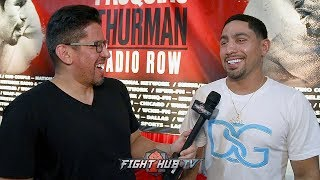 """DANNY GARCIA """"MY HEART IS TELLING ME PACQUIAO WINS A DECISION"""" TALKS MIKEY GARCIA FIGHT RUMORS"""