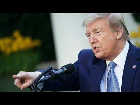 Coronavirus aux États-Unis: Trump menace de suspendre le Congrès
