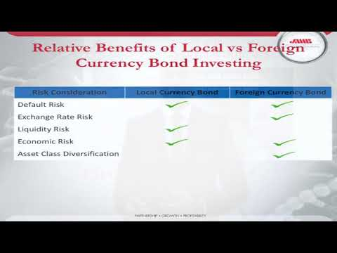 USD Vs Local Currency Bonds   How safe are they as an Investment