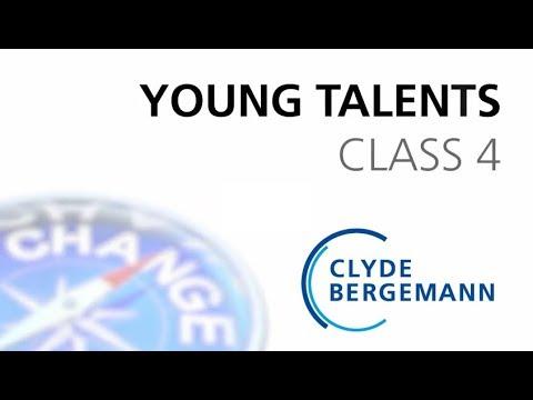 Clyde Bergemann Young Talents Class 4