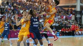 Spain v France - Final Full Game - 2013 EuroBasket Women