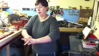 """TORQUE! - Elizabeth Reverse bend -- 128.75k @6"""" EN1 8mm x 6"""" CRS bar to 20.7deg"""