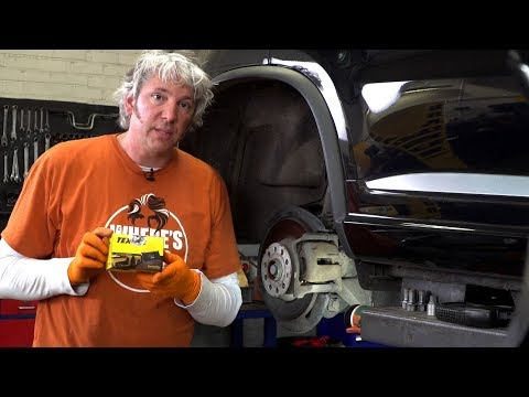 Textar - Brake Replacement On An EPB Vehicle With Edd China