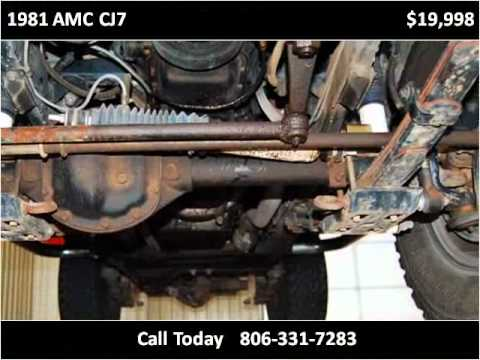 1981 amc cj7 used cars amarillo tx youtube for Integrity motors amarillo tx
