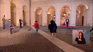 Conferenza stampa del Presidente Conte