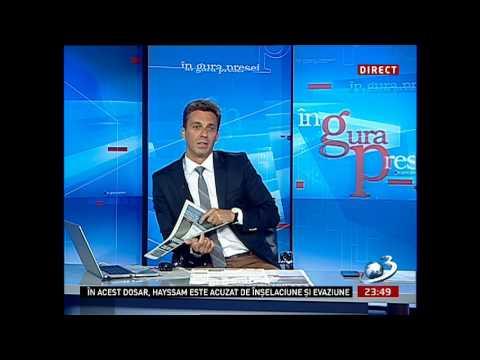 In Gura Presei 28 August 2013 cu Mircea Badea - Nu mai pot cu regele