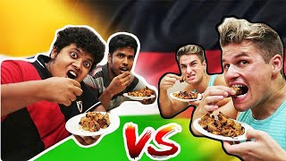 Food Challenge -  India vs Germany