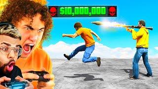 I Put A $10,000,000 BOUNTY On MYSELF in GTA 5!