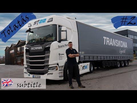 2.Online betanítás Tolatás kamionnal 2019