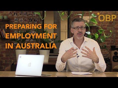 Preparing For Employment In Australia