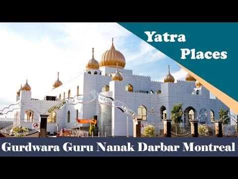 Montreal Gurdwara Guru Nanak Darbar canada - YouTube