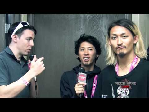 One Ok Rock ~ Interview ~ Vans Warped Tour 2014 ~ 6/21/14 on ROCK HARD LIVE