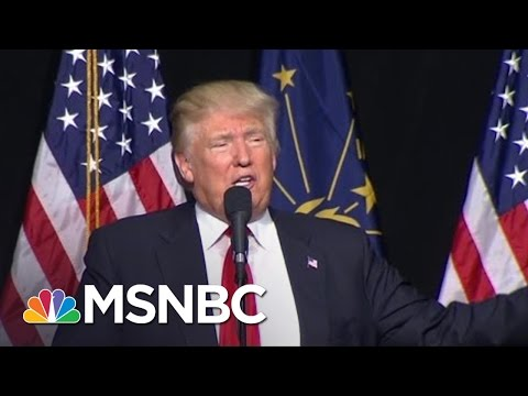 Donald Trump On Waterboarding: 'I Love It' | MSNBC