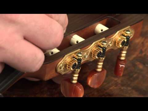 Restringing Your Classical Guitar