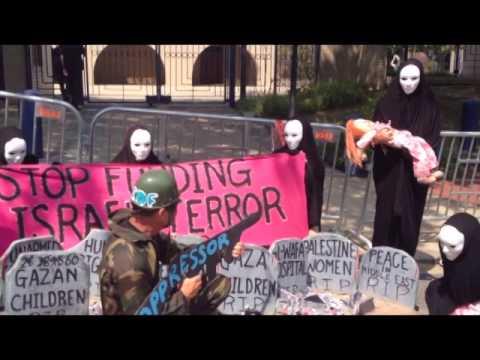Activists Arrested at Israeli Embassy Protesting Gaza Massacre