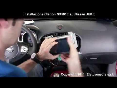 Installazione 2 Din Clarion Nx501e