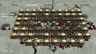 Yet Another Zombie Defense HD -  1.000.000 Colonel Achievement Unlocked - SOLO Defense Gameplay