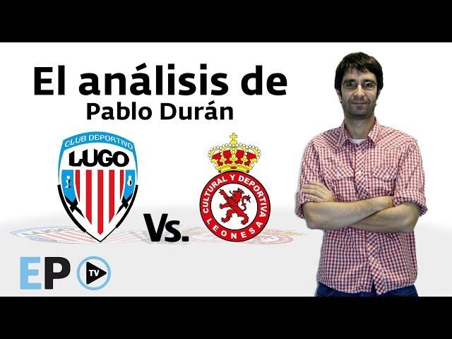 El análisis de Pablo Durán del CD Lugo-Cultural