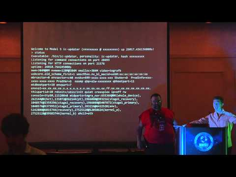 Kevin Mahaffey & Marc Rogers: Carhacking - Hacking Motorboards