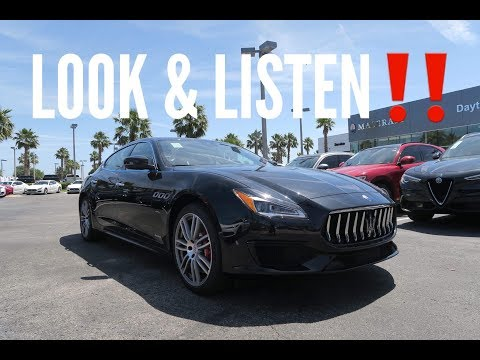 Our 1st Maserati Quattroporte GTS Is Here!! (Startup, Rev, Drive)