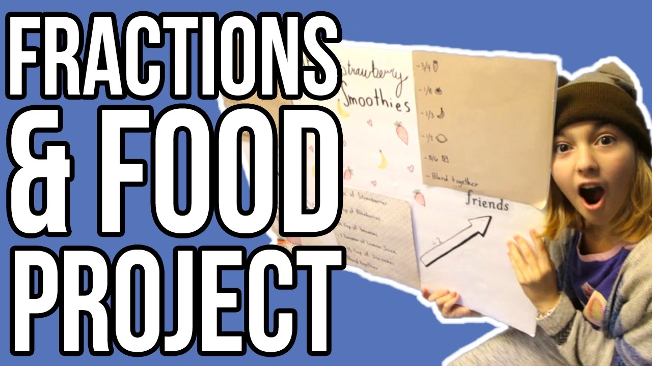 Fractions recipes 6th grade math project youtube fractions recipes 6th grade math project forumfinder Images