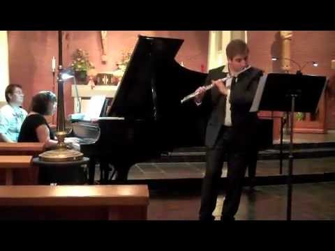 SUNSWEPT by Adrienne Albert for flute and piano performed by Aleksandr Haskin and Mary Au.