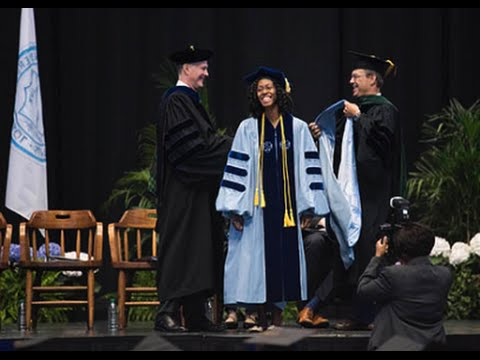 2016 Doctoral Hooding Ceremony   UNC-Chapel Hill