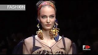 Dolce Gabbana Spring 2013 Milan Fashion Channel