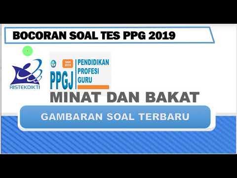 Soal Minat Dan Bakat Terbaru Untuk Tes Ppg 2019 Youtube