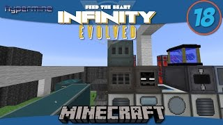 Minecraft Mods: How to use the EnderIO Painter in FTB Infinity Evolved - E18