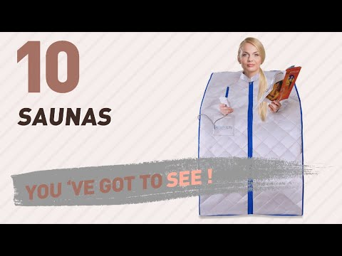Top 10 Saunas // New & Popular 2017