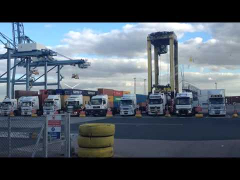 Port of Tilbury-  41 berth docks