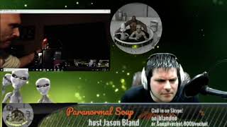 Kevin calls in during Paranormal Soup's live ITC show with Steve Huff