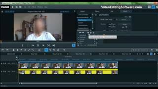 Easiest Way To Blur Faces in Magix Video Pro X or Edit Pro Plus