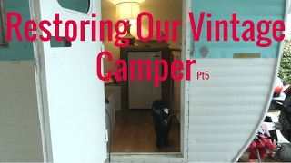 Restoring a Vintage Camper For The Farmer
