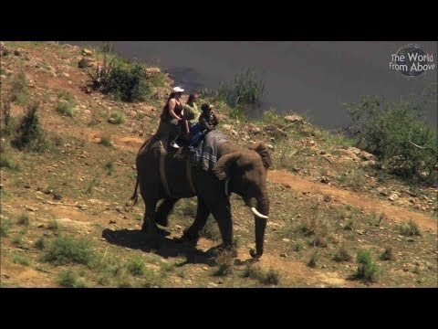 South Africa from Above - 10 Great Aerial Locations - inc. Kruger Park (HD)