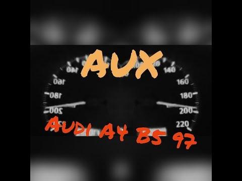 Как установить AUX в штатную магнитолу Audi A4 B5