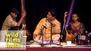 Anil Kumar Saha performs at International Music Festival - Delhi