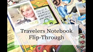 Travelers Notebook Flip-Through Apr-May 2018