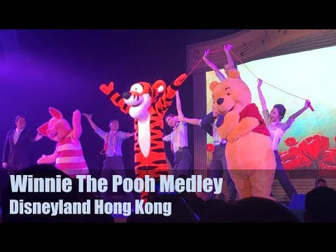 WINNIE THE POOH MEDLEY Live - A Magical Disney Songbook Pt.2