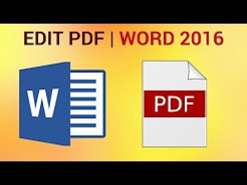 how to pdf file edit and save