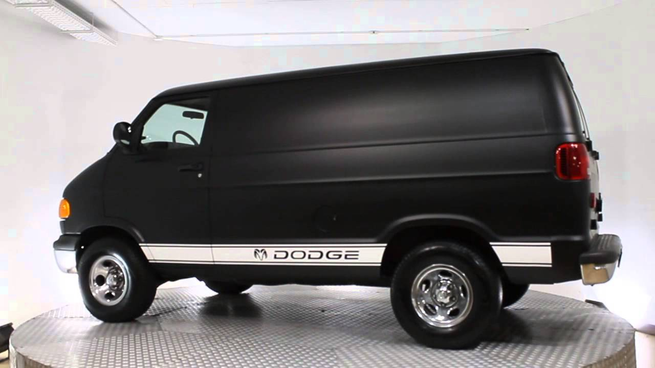 dodge de segundamano ram van 1500 automatico 175cv youtube. Black Bedroom Furniture Sets. Home Design Ideas