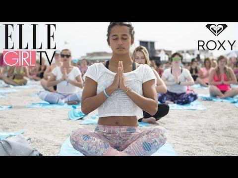 Le #ROXYFitness réunit 1500 filles à Marseille pour un événement TOP | En exclusivité sur ELLE Girl