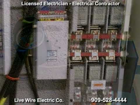 Electrician - San Bernardino,  Electrical Contractor - Riverside, CA