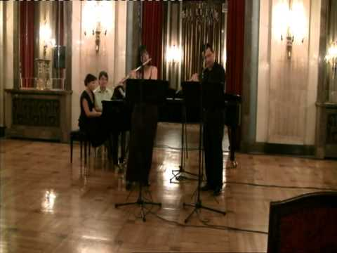 Franz & Karl Doppler - Rigoletto Fantasie for two flutes and piano