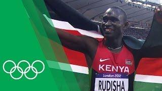 David Rudisha discusses breaking the 800m world record