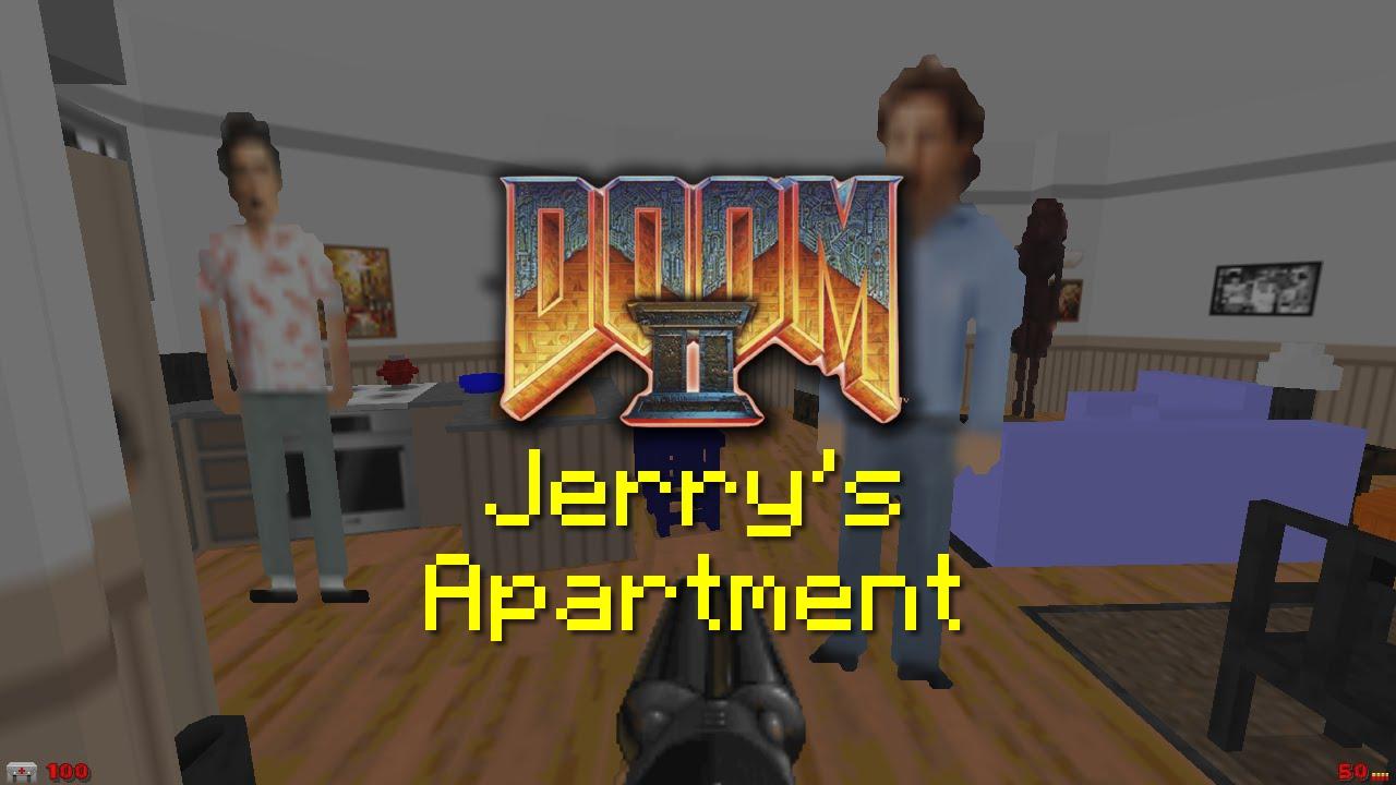 Hero Created 'Seinfeld' Apartment as a 'Doom 2' Level (Video)