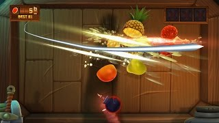 Fruit Ninja Kinect 2 Xbox One gameplay Quickplay Classic