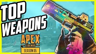 Top 10 Best Weapons In Apex Legends Season 5